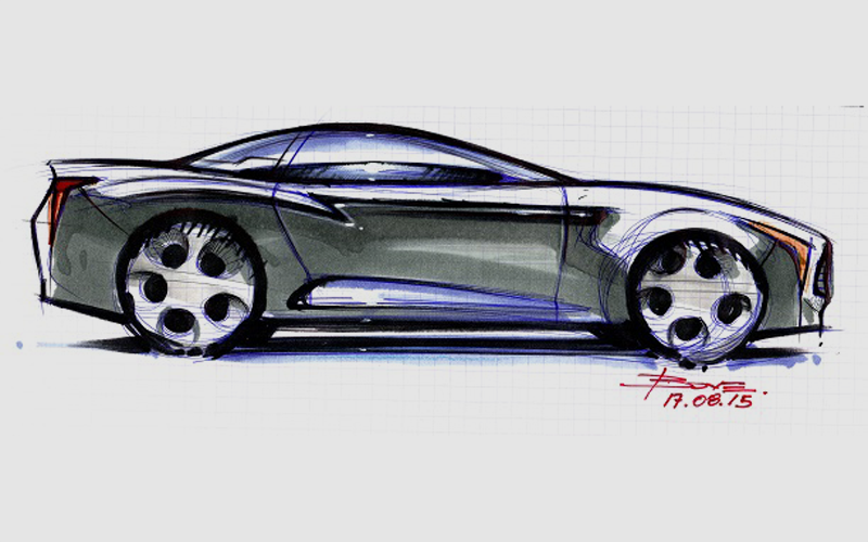 how-to-start-drawing-a-car